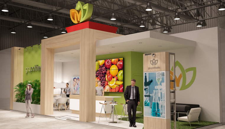 Stand para Grupo Iñesta en Fruit Attraction 2017