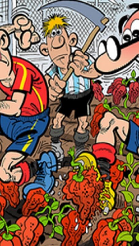 La marca Ibáñez, eterna como Naranjito y los Mundiales de Fútbol 2018