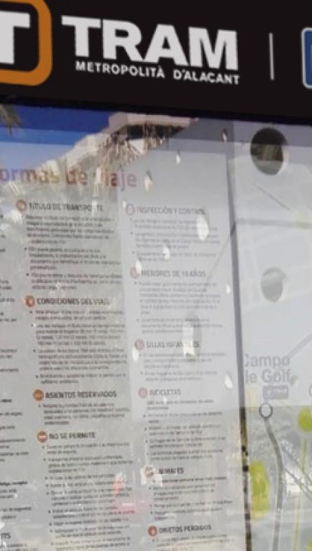 Este verano Ferrocarriles de la Generalitat Valenciana estrenó la nueva L5. Para poner en servicio esta línea, FGV ha tenido que realizar una serie de trabajos de reacondicionamiento de sus instalaciones, entre ellas, la renovación de los paneles informativos en marquesinas y paradas, tanto horarios como planos de red.