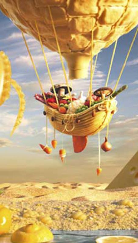 Un mundo hecho de Foodscapes
