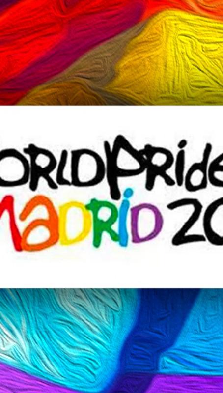 Exposición LGTBIQ, Nuestro deseo es una revolución, durante el WorldPride Madrid 2017