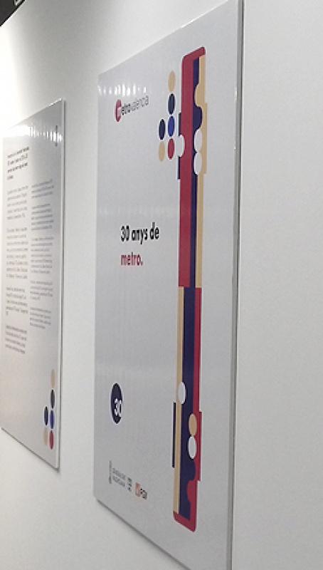 Exposición 30 años de metro