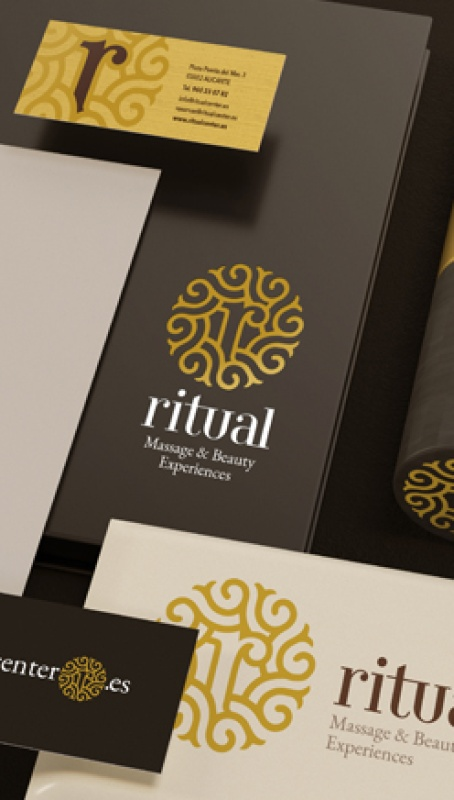 Imagen corporativa Ritual Center