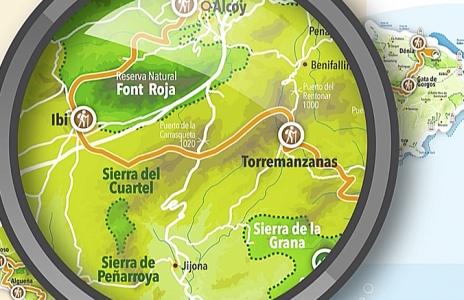 Presentación de la Ruta de Largo Recorrido GR330 del Patronato Provincial de Turismo de Alicante Costa Blanca