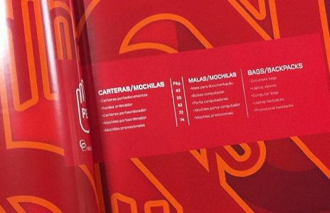 Diseño de catálogo Abadías 2014.  Confianza y satisfacción.
