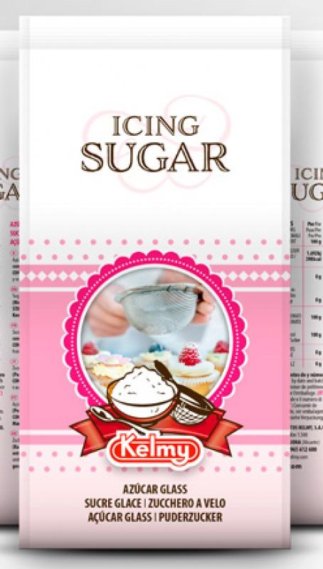 Envasado renovado para el Icing Sugar de Kelmy