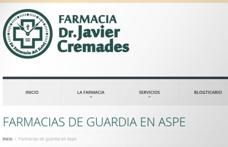 Mejoras tecnológicas en la web farmaciacremades.com