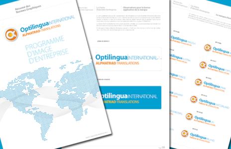 Imagen corporativa para Optilingua International