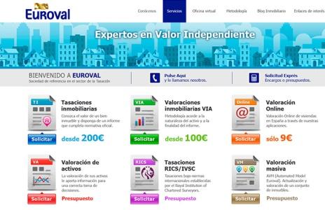 Nuevo proyecto web de Euroval