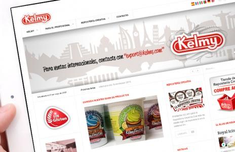 Nueva web para Productos Kelmy