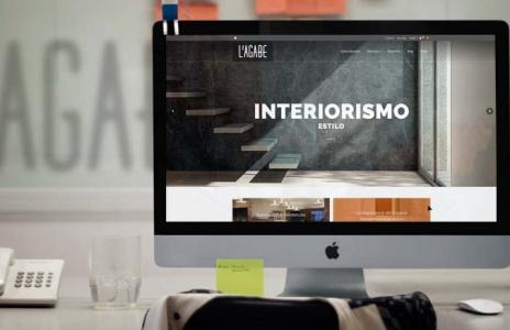 Diseño web para L'Agabe